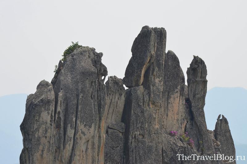 скала, парк Драконов