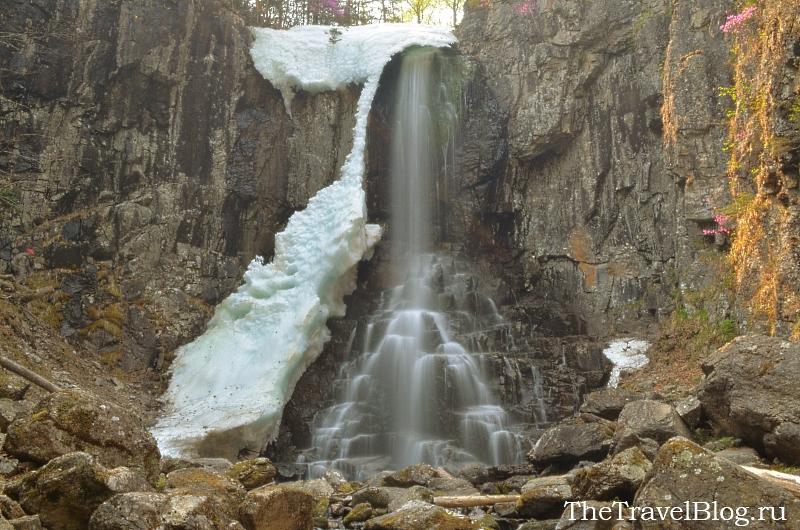 Водопад Еламовский (Беневской)