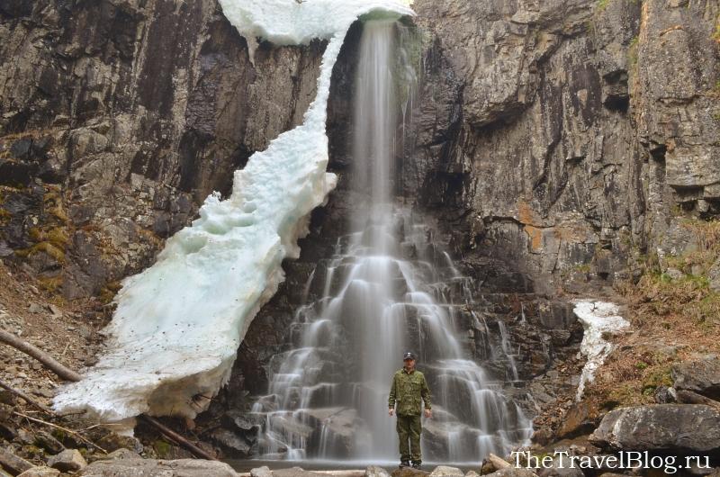 Водопад Еламовский