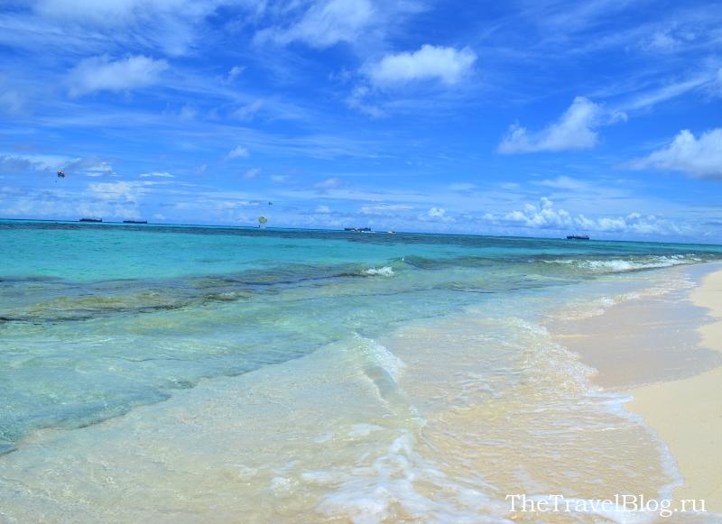 пляж на Манагахе