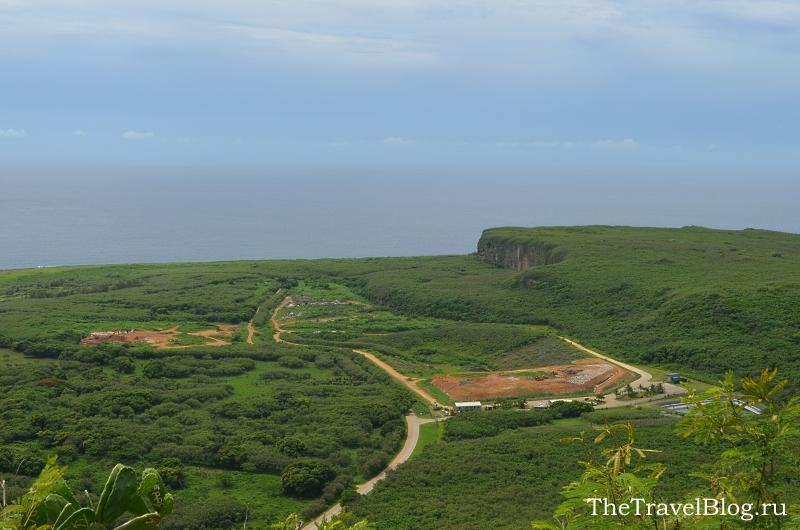 Вид на остров с Суисайд Клиф