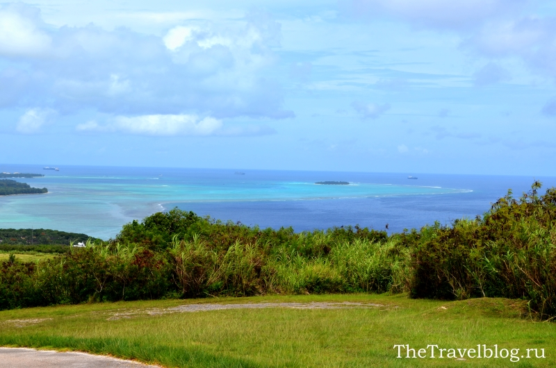 Вид на остров Манагаха с Сайпана