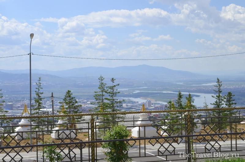 панорамный вид на Улан-удэ