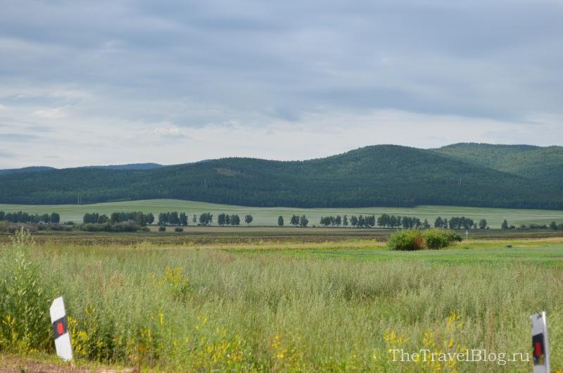 по дороге из Тугнуя до Улан-Удэ