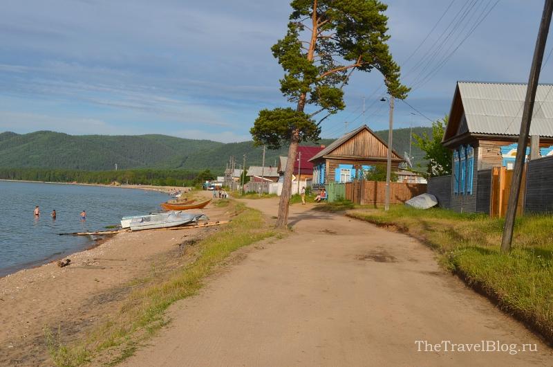 улица Байкальная в Максимихе