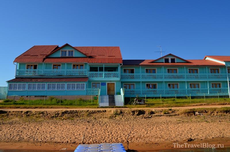 Вид на отель Лукоморье