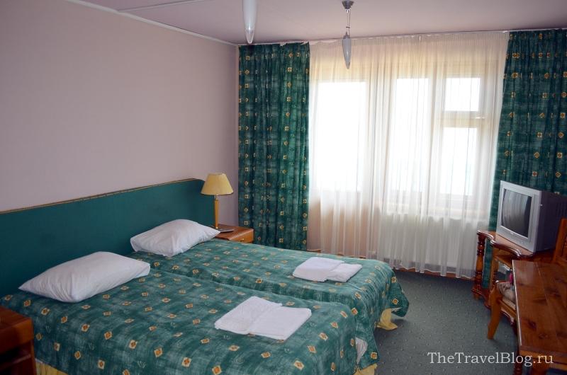 стандартный номер в отеле Лукоморье
