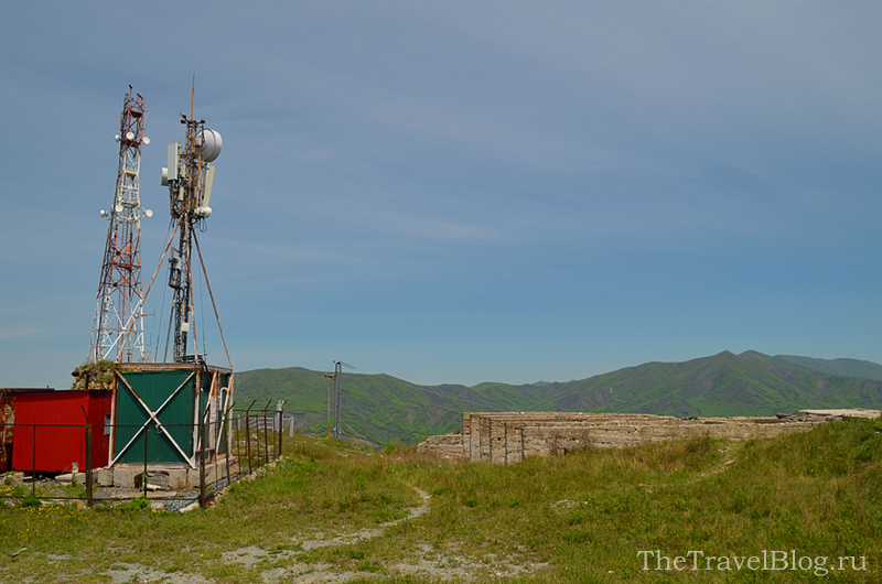 антенна и гора