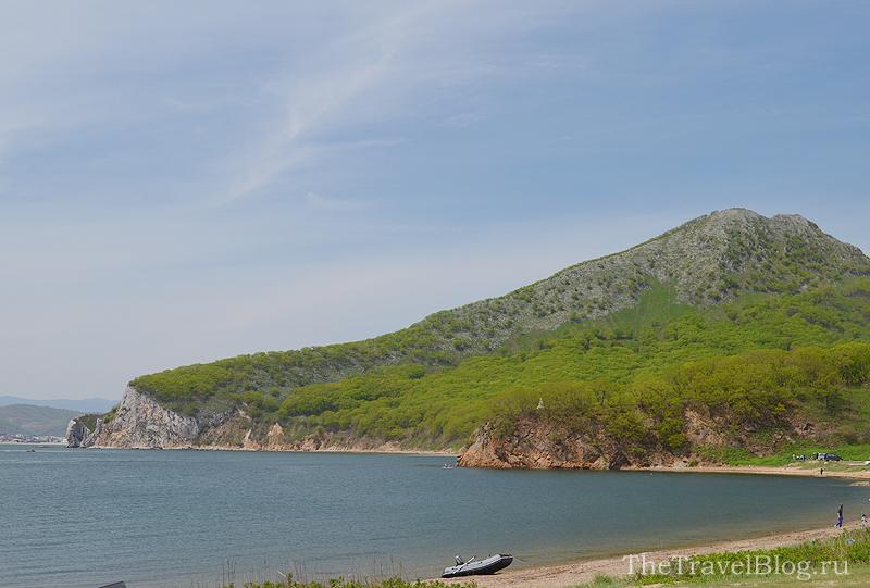 гора и пляж