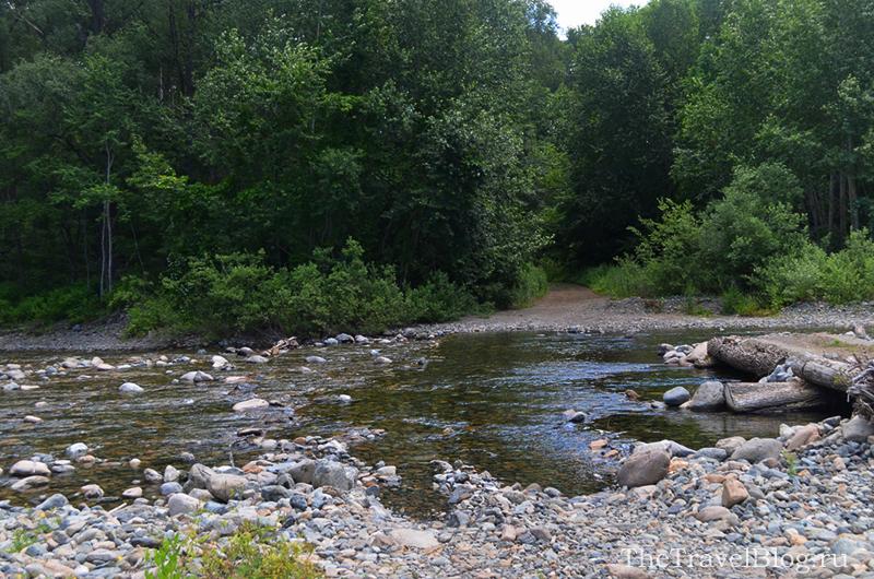 река для переезда