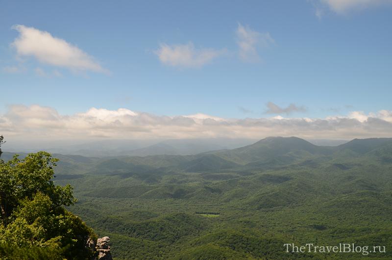 облака и скалы