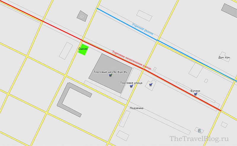 гостиница Сысин на карте