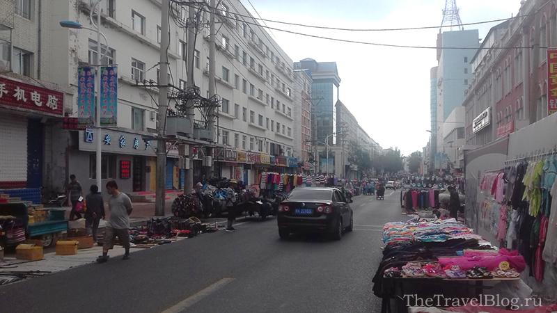 рынок вдоль дороги
