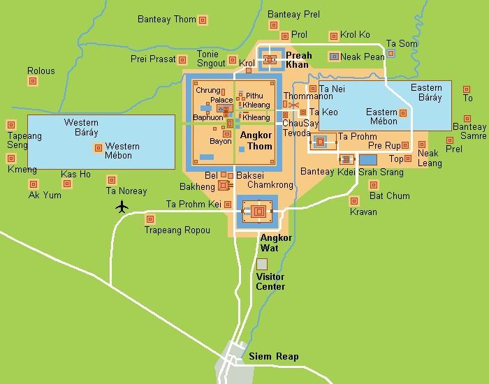 План Ангкора
