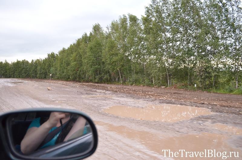 по дороге в Хабаровск