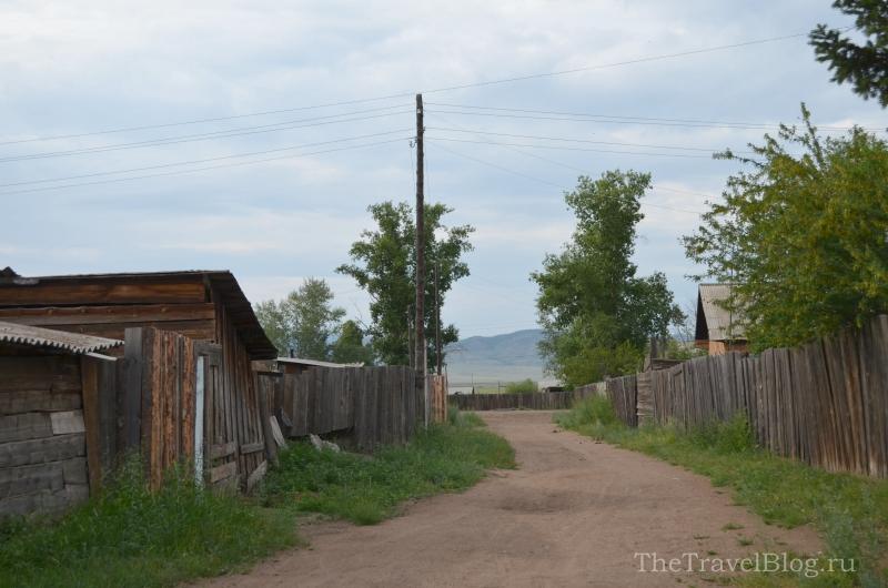 дороги между домами