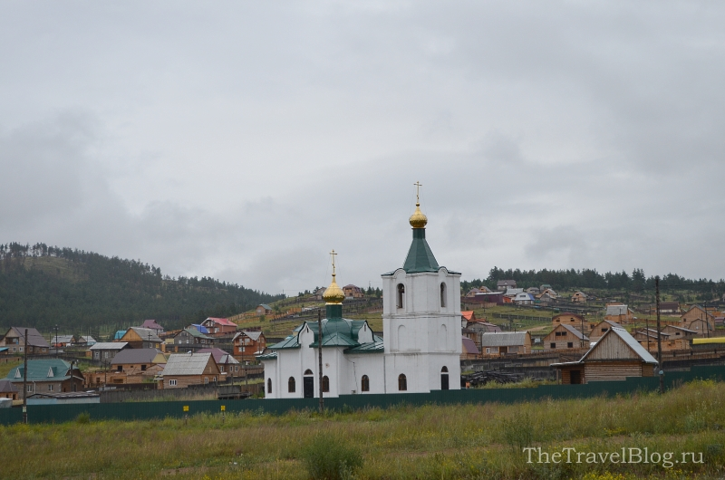 церквушка в пригороде Улан-Удэ