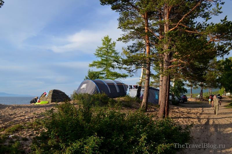 стоянка для палаток