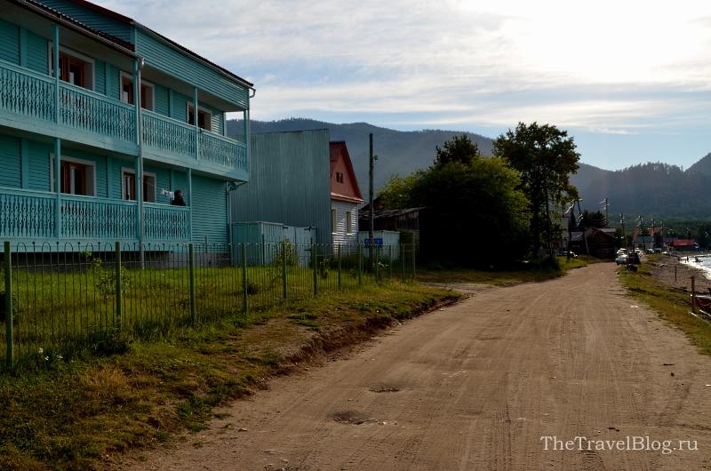 дорога в селе Максимиха