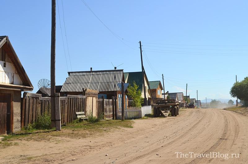 проезжаем Усть-Баргузин