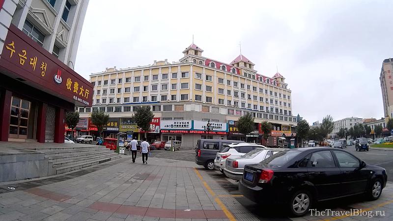 на улицах Хуньчуня