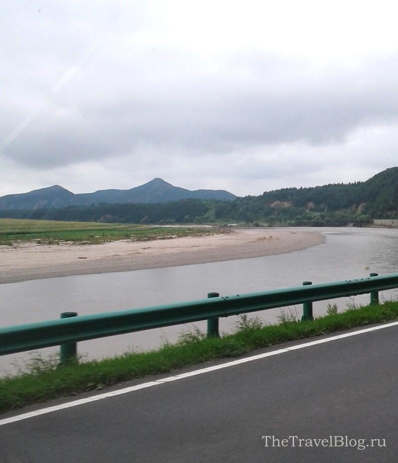 Через реку Туманган (Туманная) уже Северная Корея