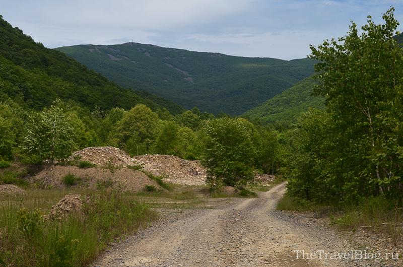 гора Халаза и дорога к ней