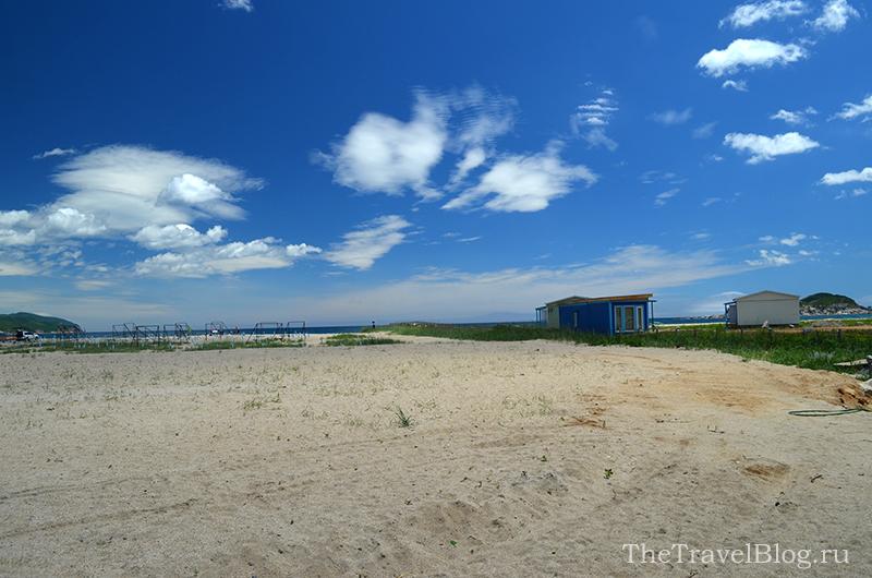 песок и небо