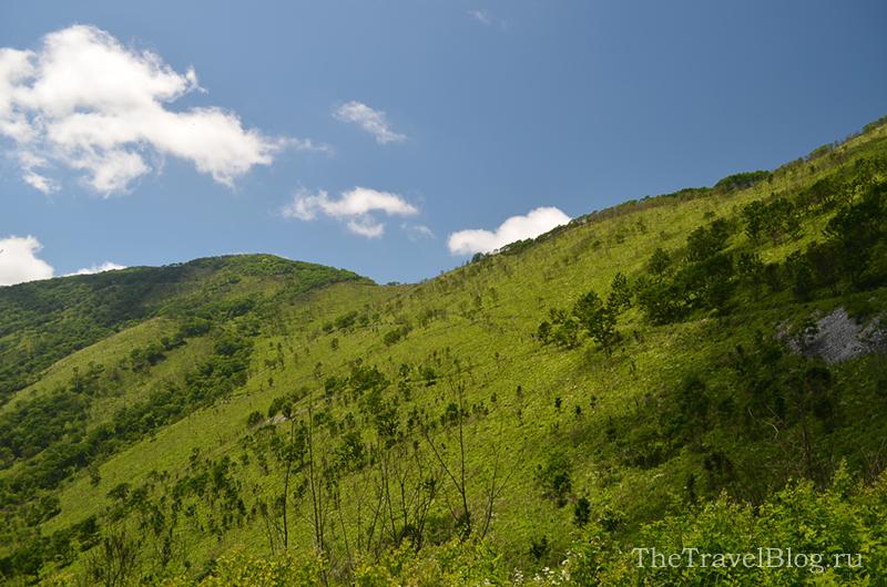 небо и гора