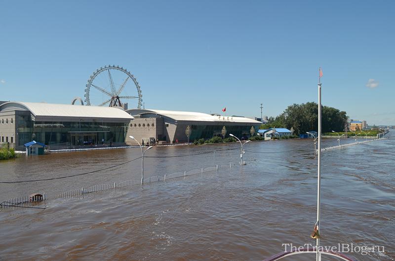 затопленный вокзал