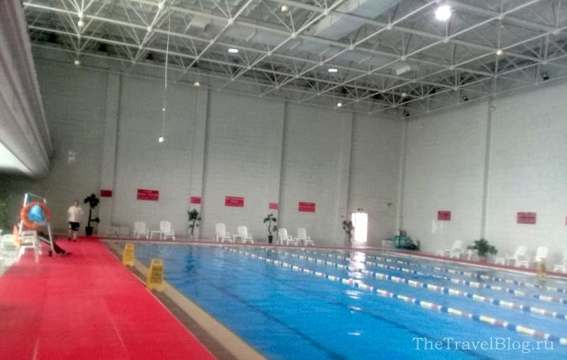 бассейн в Хэйхэ