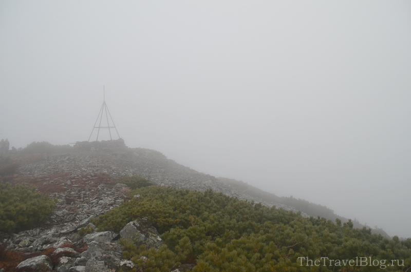 Лысая гора в тумане